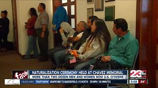 Naturalization ceremony held in Keene today - Video