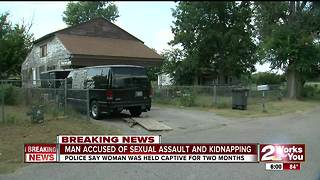 Man accused of sexual assault and kidnapping