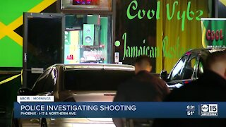 Multiple people shot at strip mall near 19th and Northern avenues