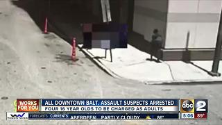 All teens involved in downtown assault and robbery arrested - Video