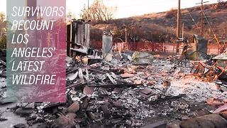 Hope for survivors of California's Thomas Fire - Video