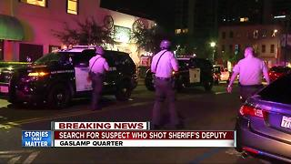 Off-duty deputy, bystander shot in Gaslamp confrontation - Video