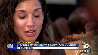 Scripps estate Sale to Benefit Local Charities - Video
