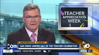 3 SD Unified teachers being honored during Teacher Appreciation Week