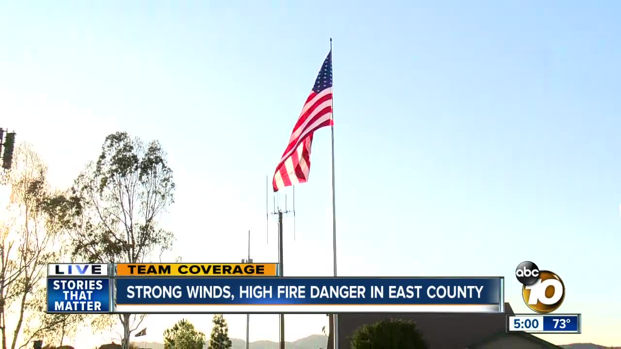 Most San Diego County residents have power restored after winds die down