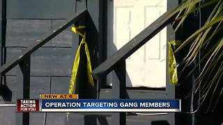 18 gang members arrested on drug,firearm charges