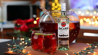 BACARDÍ Gingerberry Rum Punch - Video