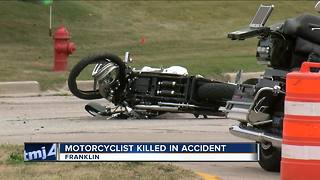 Police in Franklin investigating fatal motorcycle accident - Video