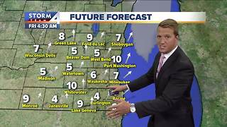 Temperatures heating up Thursday - Video