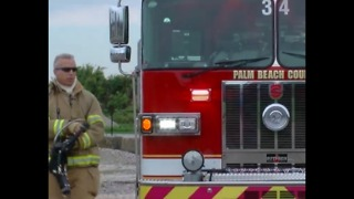 Hurricane disaster drill in Palm Beach County
