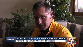 Moeller football coach John Rodenberg steps down after 10 seasons - Video