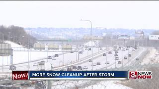 More snow cleanup after latest storm
