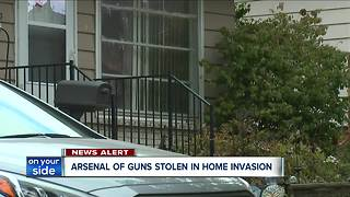 70 guns stolen in Garfield Heights home invasion - Video
