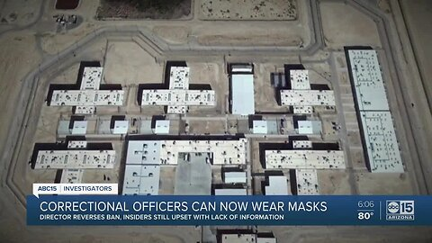 AZ Dept. of Corrections changes course, allowing workers to wear masks