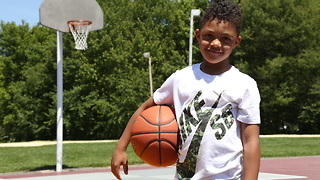 Baby Baller: 6-Year-Old Basketball Star Aiming For The NBA - Video