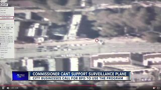 Police Commissioner says he can't support surveillance plane