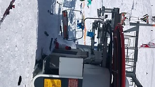 Chairlift Looses All Control In Gudauri - Video