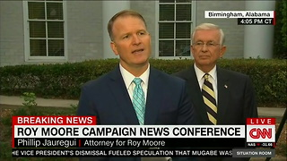 Roy Moore Presser - Video