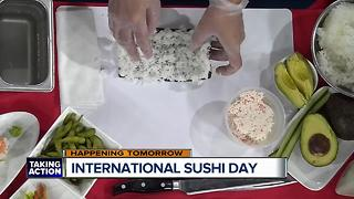 International Sushi Day with Benihana - Video