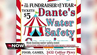 Brandon mother hosts water safety carnival and fundraiser in son's name - Video