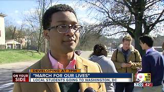 Local students heading to March For Our Lives - Video