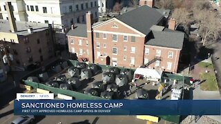 Denver opens first sanctioned homeless camp today
