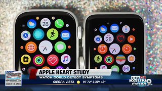 Apple watches could help catch heart issues