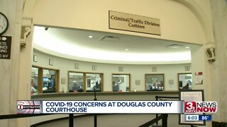 COVID-19 concerns at Douglas County Courthouse