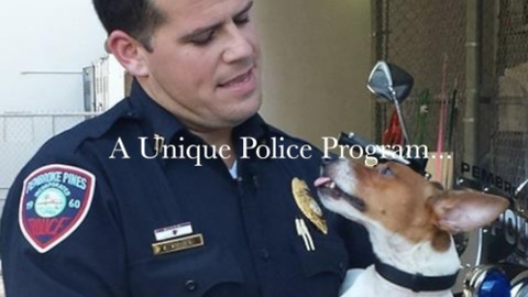 Lost and abandoned pets saved by local police program