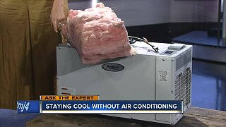 Ask the Expert: Staying cool without air conditioning