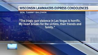 Wisconsin lawmakers share condolences in wake of Las Vegas shooting - Video