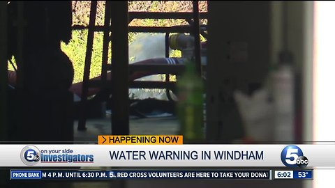 Some warned not to drink the water in Portage County village