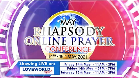 Rhapsody Online Prayer Conference | Friday, May 14 for 24 hours