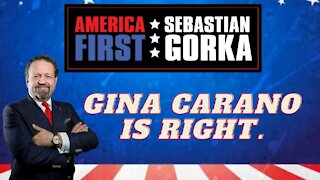 Gina Carano is right. Sebastian Gorka on AMERICA First