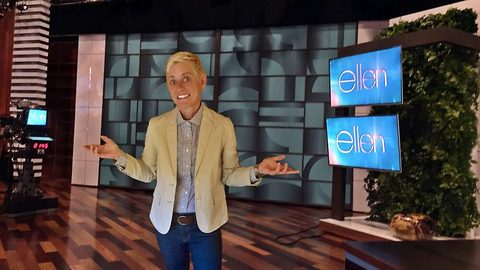 Hell-en DeGeneres! Comedian with identical life and looks to Ellen blasts passers-by who refuse to believe she is not the TV star