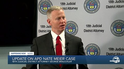 DA Brauchler updates public on Nate Meier case