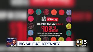 JcPenny offering weekend sale - Video