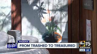 Valley neighborhood using art to curb illegal activity - Video
