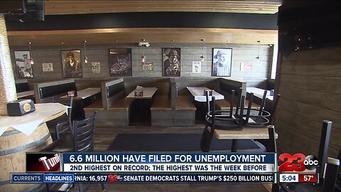 New unemployment numbers