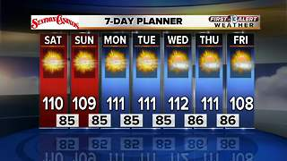 13 First Alert Las Vegas Weather Forecast for August 4 - Video