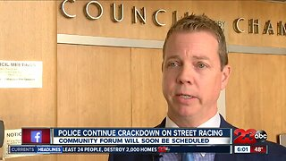 Police, City officials planning a community forum about street racing