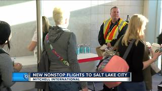 New nonstop flights from Milwaukee to Salt Lake City - Video