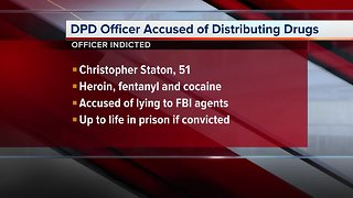 Detroit police officer accused of conspiracy to distribute drugs