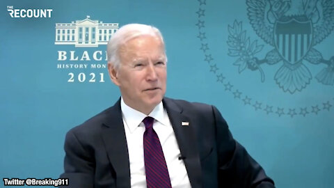 Biden Makes Reference To Trump's Injecting Bleach Remark, Tries To Defend His Use of Using Notecards