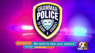 Feedback Friday: A visit from the grammar police - Video
