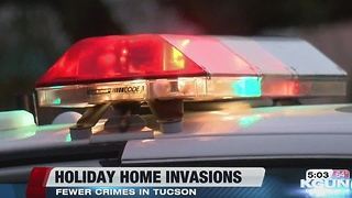 Home invasions decreasing in Tucson - Video