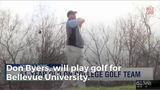 61-Year-Old Golfer Recruited To Play College Golf As Freshman - Video