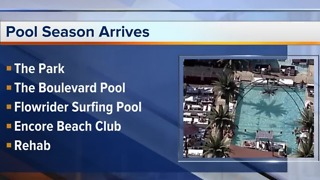 2018 Las Vegas pool season officially underway - Video
