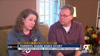 Parents share son's story