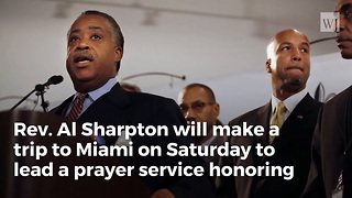 Al Sharpton Leading Prayer Service to Honor Trump Attacker Frederica Wilson - Video